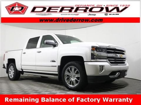 2018 Chevrolet Silverado 1500 4WD Crew Cab 143.5 High Country